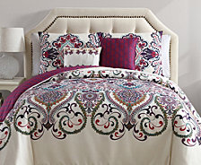 VCNY Home Amherst Reversible 4-Pc. Twin XL Comforter Set