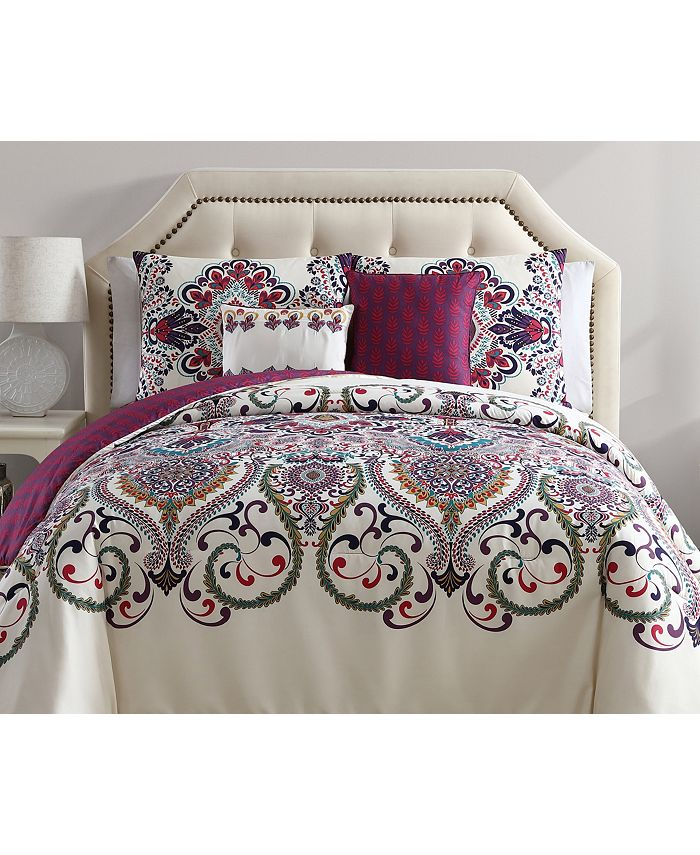 VCNY Home - Amherst Reversible 4-Pc. Twin XL Comforter Set