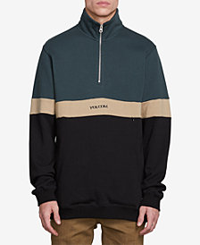 Volcom Men's Rainer Polo Half-Zip Sweatshirt