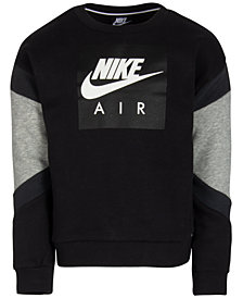 Nike Toddler Boys Colorblocked Sweatshirt