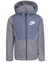 a2483e2e594bc8 Nike Little Boys Sportswear Club Fleece Zip Hoodie