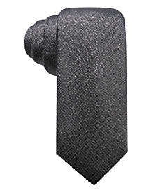 Alfani Men's Colfax Slim Fleck Silk Tie, Created for Macy's