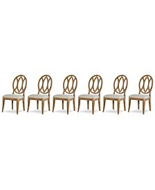 Rachael Ray Everyday Dining, 6-Pc. Set (6 Oval Back Side Chairs)