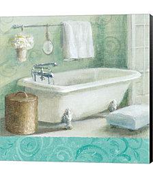 Refresh Bath Border I by Danhui Nai Canvas Art