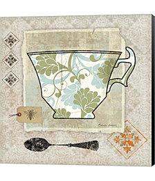 Garden Cafe II by Belinda Aldrich Canvas Art