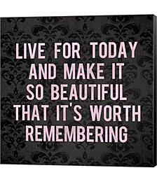 Live for Today 2 by Louise Carey Canvas Art