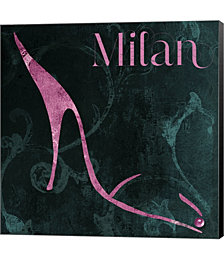 Milan Shoes by Mindy Sommers Canvas Art