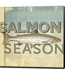 Salmon Season by Dallas Drotz Canvas Art