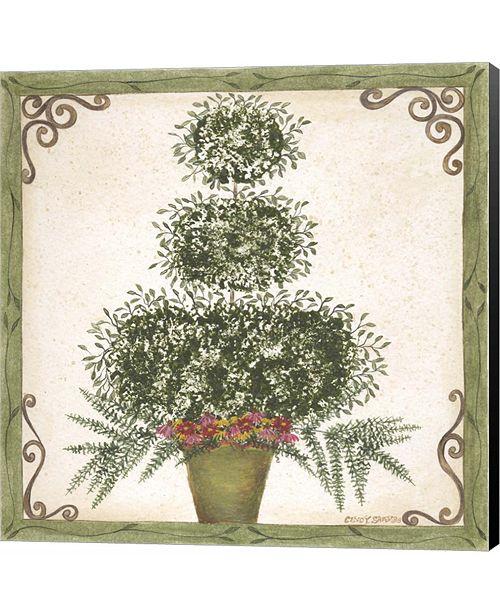 Metaverse Topiary III by Jennifer Pugh Canvas Art