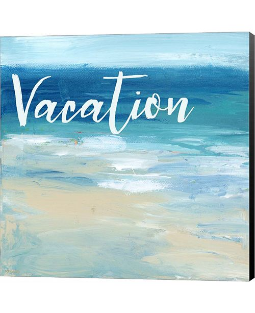 Metaverse Vacation By the Sea by Pamela J. Wingard Canvas Art