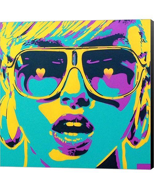 Metaverse Pop Star 2 by Annelein Beukenkamp Canvas Art