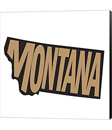Montana Letters by Art Licensing Studio Canvas Art