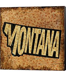 Montana on Pattern by Art Licensing Studio Canvas Art