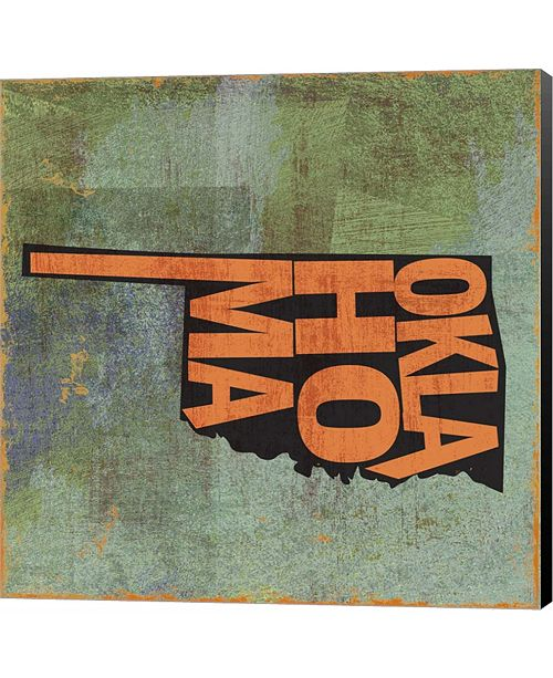 Metaverse Oklahoma by Art Licensing Studio Canvas Art
