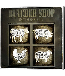 Butcher Shop V by LightBoxJournal Canvas Art