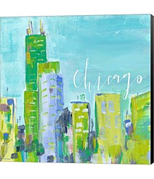 Chicago by Pamela J. Wingard Canvas Art