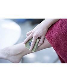 Into Nature Natural Crystal Massage Soap: Lavender Essential Oil, Organic Spirulina & Amethyst