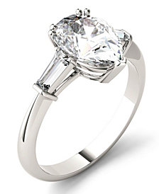Moissanite Pear Engagement Ring (2-1/2 ct. tw.) in 14k White Gold