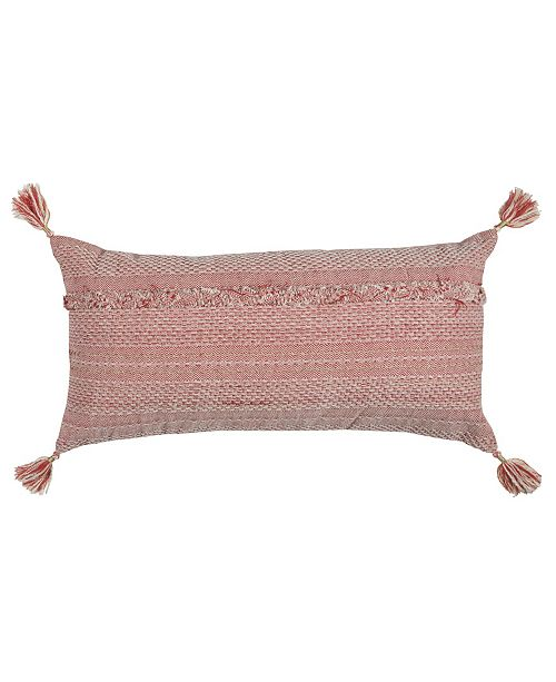 "Rizzy Home 14"" x 26"" Poly Filled Pillow"