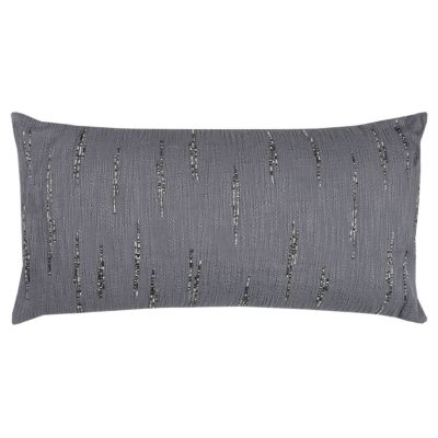 """14"""" x 26"""" Textured with Beaded Accents Poly Filled Pillow"""