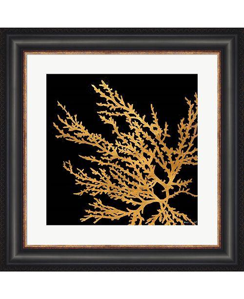 Metaverse Coastal Coral on Bl1 by Lanie Loreth Framed Art