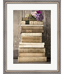 Books II by Symposium Design Framed Art