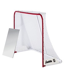 "Franklin Sports 72"" Nhl Quikset Steel Hockey Goal"