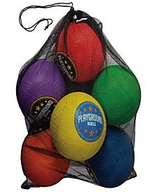 6 Pack Playground Balls