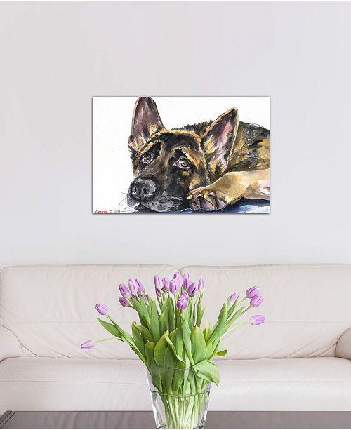 "iCanvas ""German Shepherd"" by George Dyachenko Gallery-Wrapped Canvas Print"