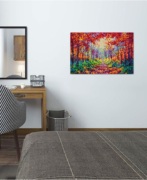 "iCanvas ""Luminous"" by Kimberly Adams Gallery-Wrapped Canvas Print"