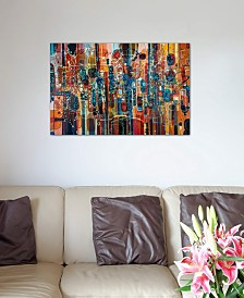 """iCanvas """"Wild Red"""" by Rebecca Moy Gallery-Wrapped Canvas Print"""