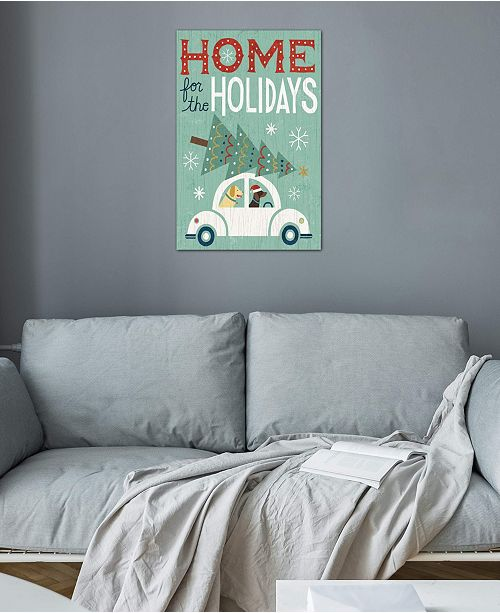"iCanvas ""Home For The Holidays"" by Michael Mullan Gallery-Wrapped Canvas Print (40 x 26 x 0.75)"