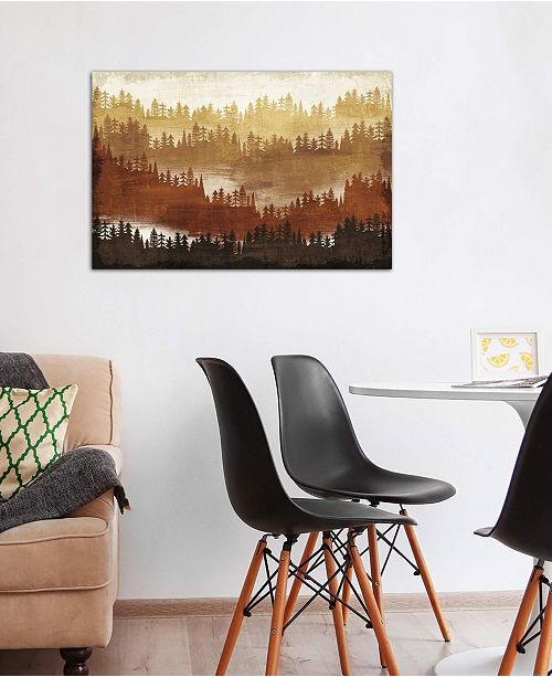 """iCanvas """"Mountainscape IV"""" by Michael Mullan Gallery-Wrapped Canvas Print (26 x 40 x 0.75)"""