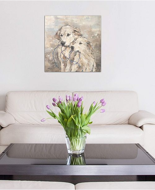 """iCanvas """"Family"""" by Debi Coules Gallery-Wrapped Canvas Print (26 x 26 x 0.75)"""