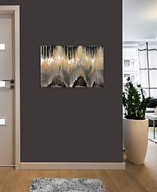 "iCanvas ""Chevron Revisited - Gold"" by Blakely Bering Gallery-Wrapped Canvas Print (26 x 40 x 0.75)"