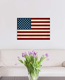 "iCanvas ""USA Flag (U.S. Constitution Background)"" by iCanvas Gallery-Wrapped Canvas Print"