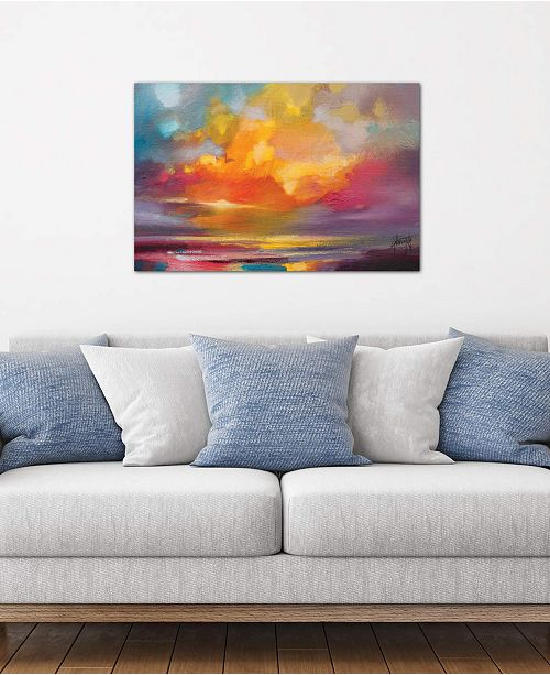 """iCanvas """"Sunset"""" by Scott Naismith Gallery-Wrapped Canvas Print (18 x 26 x 0.75)"""