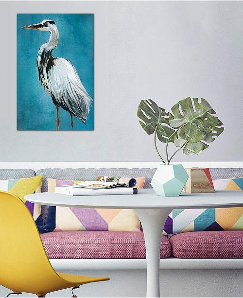 "iCanvas ""Great Blue Heron II"" by Carol Robinson Gallery-Wrapped Canvas Print (26 x 18 x 0.75)"
