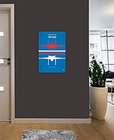 "iCanvas ""Top Gun Minimal Movie Poster"" by Chungkong Gallery-Wrapped Canvas Print (40 x 26 x 0.75)"