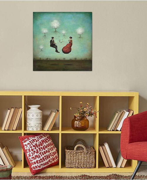"""iCanvas """"Gravitea For Two"""" by Duy Huynh Gallery-Wrapped Canvas Print (26 x 26 x 0.75)"""