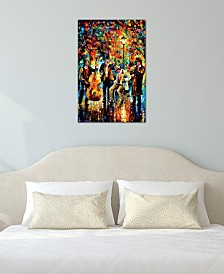 """iCanvas """"Glowing Music"""" by Leonid Afremov Gallery-Wrapped Canvas Print (40 x 26 x 0.75)"""