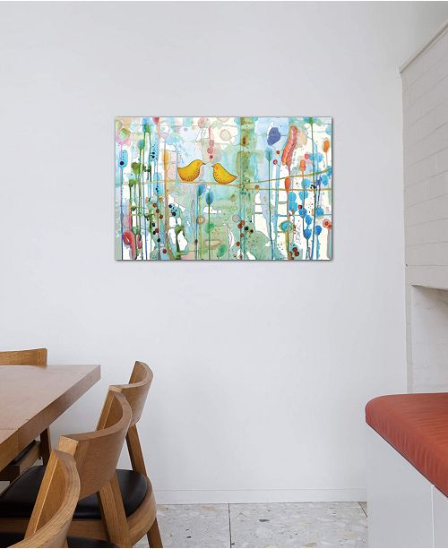 """iCanvas """"Dans Chaque Coeur"""" by Sylvie Demers Gallery-Wrapped Canvas Print (18 x 26 x 0.75)"""