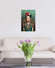 "iCanvas ""Frida"" by Giulio Rossi Gallery-Wrapped Canvas Print (40 x 26 x 0.75)"
