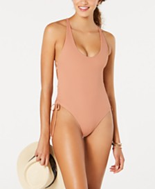 Body Glove  Ibiza Ribbed One-Piece Swimsuit