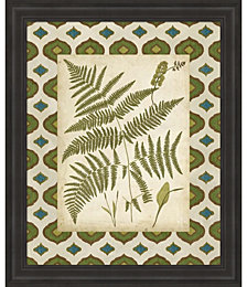 Moroccan Ferns IV by Vision Studio Framed Art
