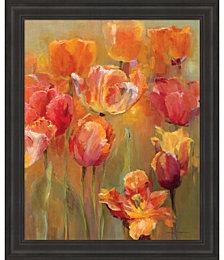 Tulips in the Midst II by Marilyn Hageman Framed Art
