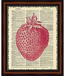 Strawberry by Erin Clark Framed Art