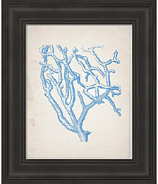 Blue Coral 2 by Natasha Wescoat Framed Art