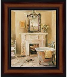 French Bath IV by Marilyn Hageman Framed Art