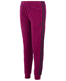 adidas Big Girls Velour Jogger Pants